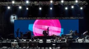 Lights-Sound-Video Wall