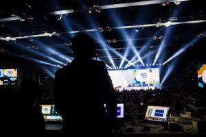 Audiovisual Equipment at Event